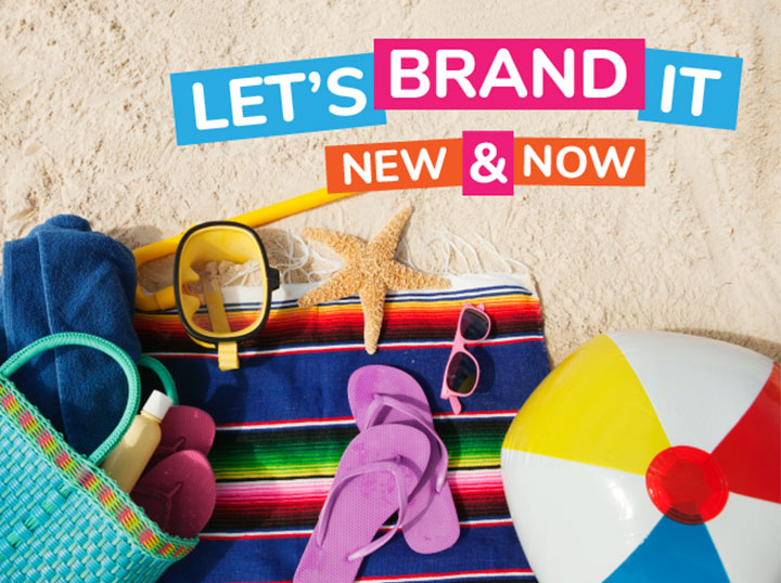 Let's Brand It, New & Now