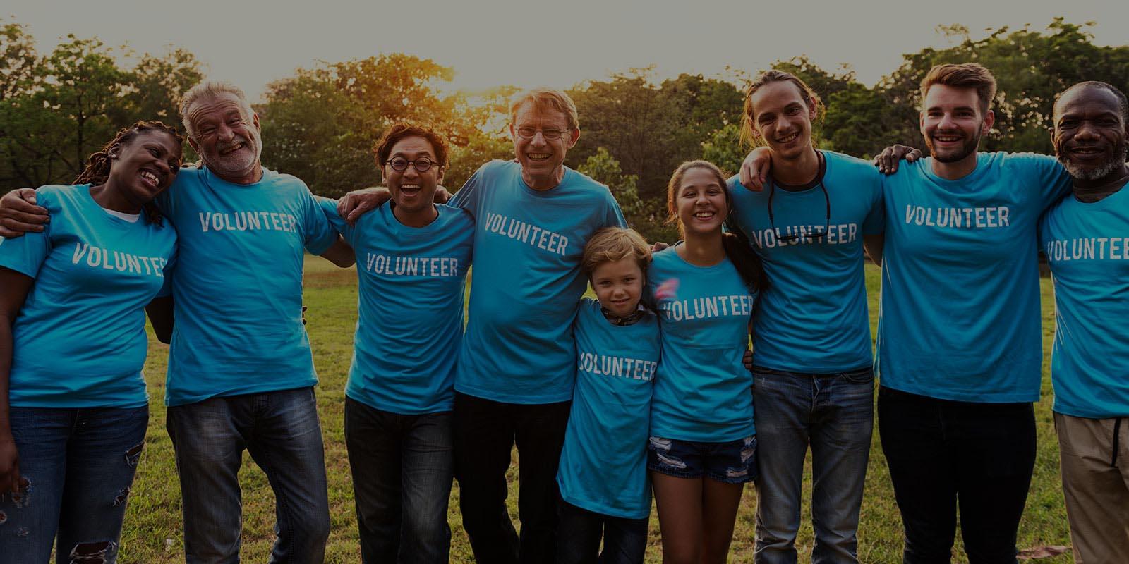 Promotional Apparel - Volunteers