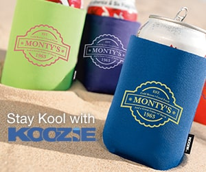 stay cool with koozie products