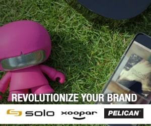 Revolutionize your brand - solo, xoopar, pelican