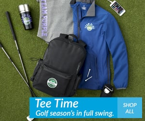 tee time! golf season's in full swing shop all golf products